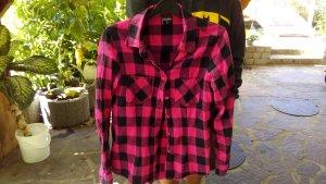 Pink kariertes Holzfällerhemd von EMP