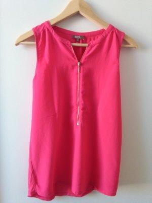 pink Kurzarm Shirt XS