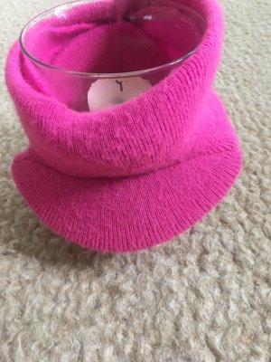 Pink Kuschel Schirmmütze