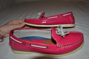 pink lack Segelschuhe von Tommy Hilfiger