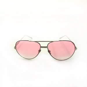 Pink Linda Farrow Sunglasses