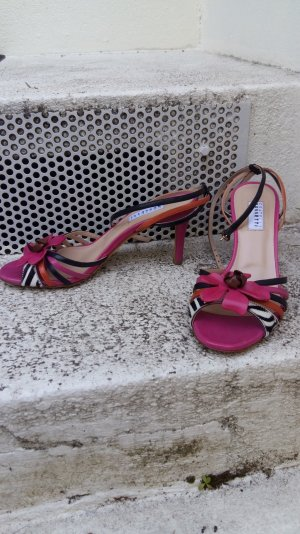 Fratelli rossetti Strapped High-Heeled Sandals multicolored leather