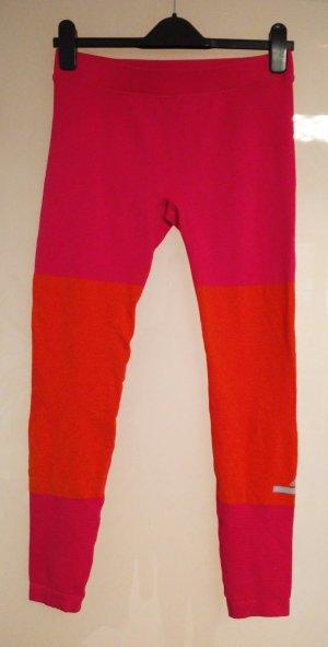 Pink-orangefarbene Leggings Stella-Sports