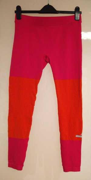 Pink-orangefarbene Leggings Stella-Sports