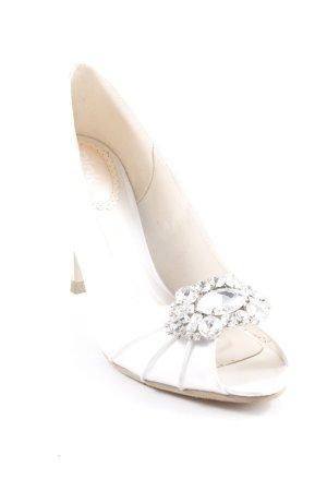 Pink Peep Toe Pumps room-zilver glitter-achtig