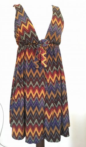 Top long multicolore polyester