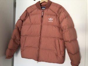 Pink Puffer Jacket Boy Adidas Originals