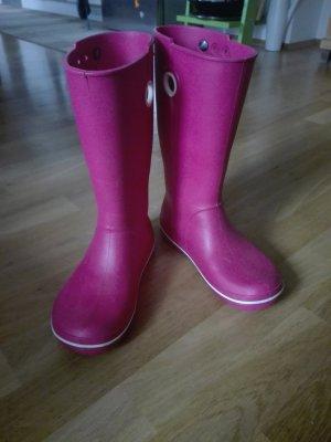 Crocs Botas de agua rosa