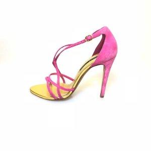 Ralph Lauren High-Heeled Sandals pink