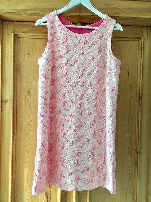 Pink-rosa Kleid von H&M, Gr.M, Lochstickmuster