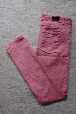 Pink/rosa Skinny Jeans Größe 34 von Promod - wie neu!