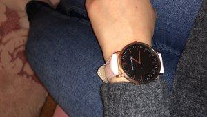 Analog Watch black-light pink