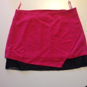 Pink-schwarzer Rock von Vero Moda