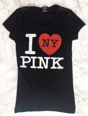 PINK Shirt mit Aufdruck