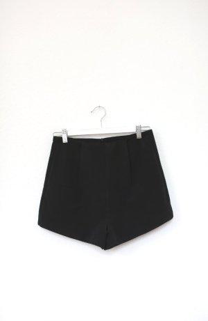 Pink Stitch Shorts Hot Pants High Waist schwarz Vintage Look Gr. 36