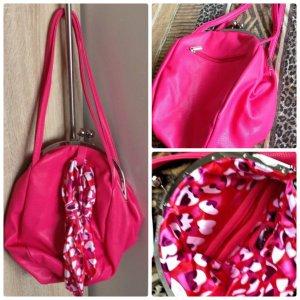 Pink Tasche von Orsay mit Halstuch. Top!Np 59€ Gr..38 x 25 cm gebraucht kaufen  Wird an jeden Ort in Österreich