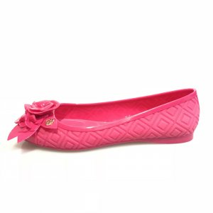 Pink Tory Burch Flat