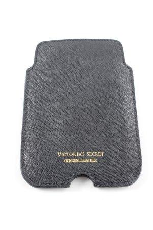 Pink Victoria's Secret Handytasche schwarz-goldfarben schlichter Stil