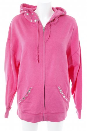 Pink Victoria's Secret Kapuzensweatshirt pink Schriftzug gedruckt