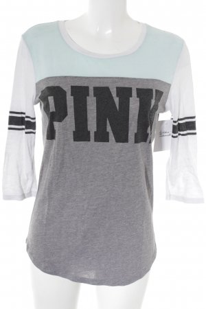 Pink Victoria's Secret Manga larga multicolor look casual