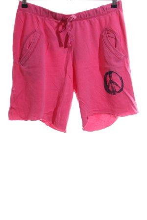 Pink Victoria's Secret Sweathose pink Motivdruck Casual-Look