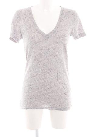 Pink Victoria's Secret T-Shirt hellgrau meliert Casual-Look