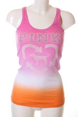 Pink Victoria's Secret Tanktop Farbverlauf Casual-Look