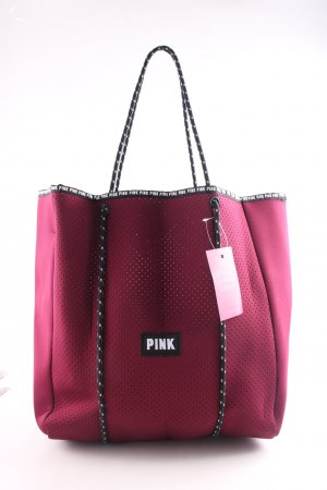 Pink Victoria's Secret Tote rot-schwarz Casual-Look