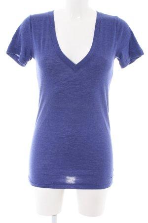 Pink Victoria's Secret V-Ausschnitt-Shirt blau Casual-Look