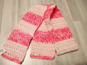 Pink-weißer O'Neill Strickschal