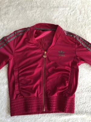 Pinke Adidas Jacke