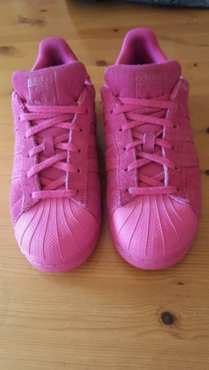 Pinke Adidas Superstars