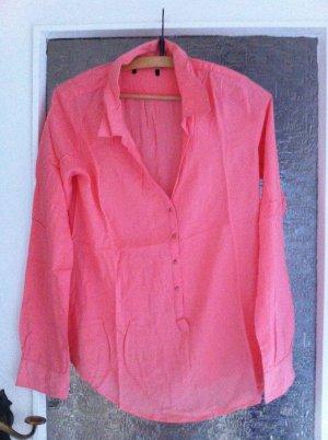Pinke Amisu Bluse - sehr angenehm zu tragen