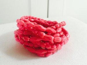 Pinke Armbänder Set neu