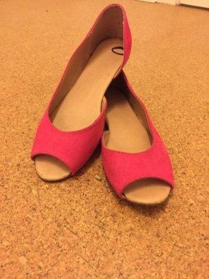 Pinke Ballerinas Gr. 40