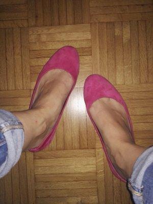 Pinke Ballerinas von Vagabond