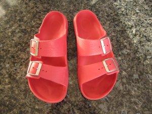 Pinke Birkenstock Sandalen