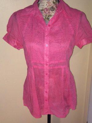 Pinke Bluse von Hallhuber
