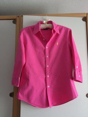 Pinke Bluse von Ralph Lauren