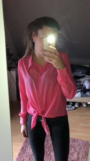 Flame Blouse brillante rose