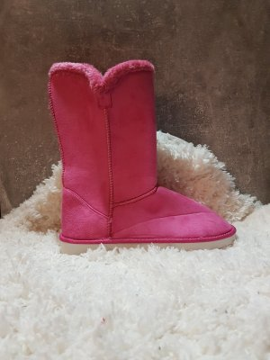 Boots raspberry-red-pink