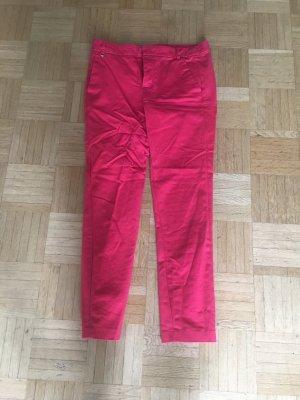 Pinke chino-hose von zara, 34,cropped