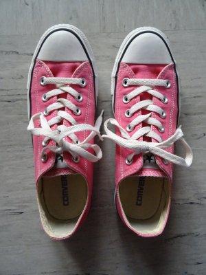 Pinke Converse Schuhe