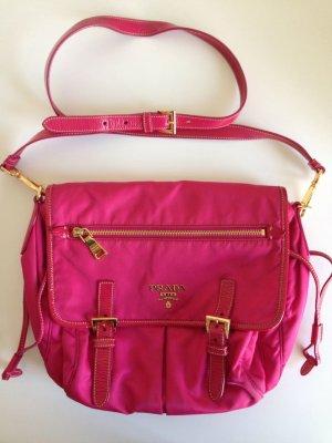 pinke Crossbody Tasche von Prada