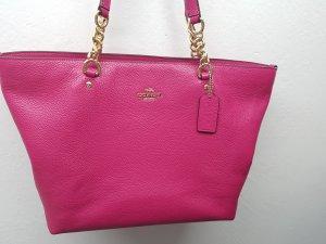Pinke Handtasche von Coach