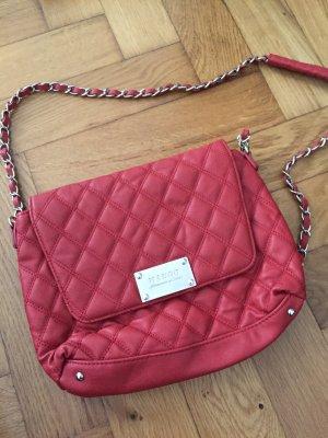 Pinke Handtasche von Mango - Kunstleder, super für abends