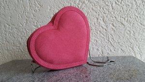 Pinke Herztasche <3 Abendtasche