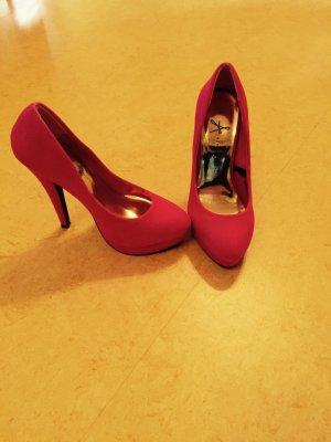 Pinke High Heels gut erhalten