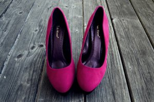 Belle Women Tacones altos magenta-negro