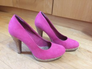 Pinke High Heels, Pumps von Marco Tozzi